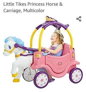 Little Tike princess horse and carriage for Sale in Oceanside, CA