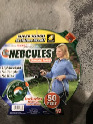 Hercules Stainless Steel Garden Hose, 50' for Sale in Orlando, FL