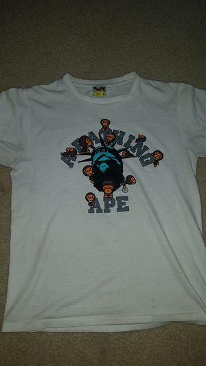 Bape (a bathing ape) tee size medium for Sale in Raleigh, NC