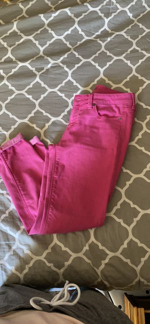 Hot pink straight cut pants for Sale in Phoenix, AZ
