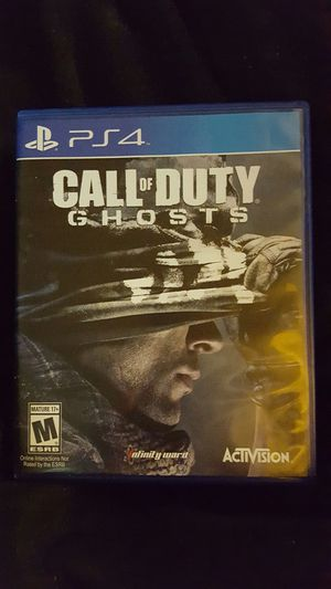 PS4 Call of Duty Ghosts for Sale in Woodbridge, VA