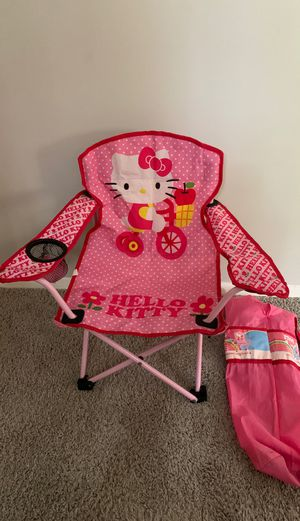 Hello kitty chair kids ages 2-6 for Sale in Silver Spring, MD
