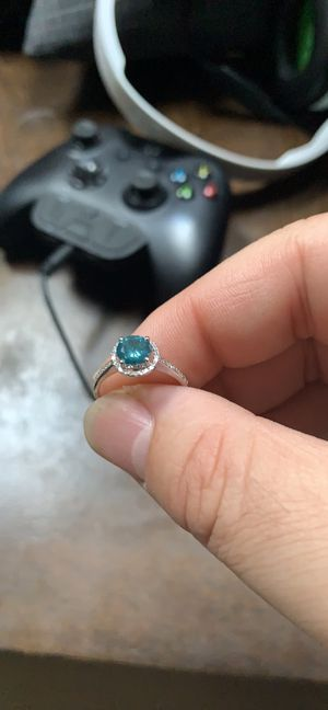 Blue Diamond engagement ring for Sale in Bristol, CT