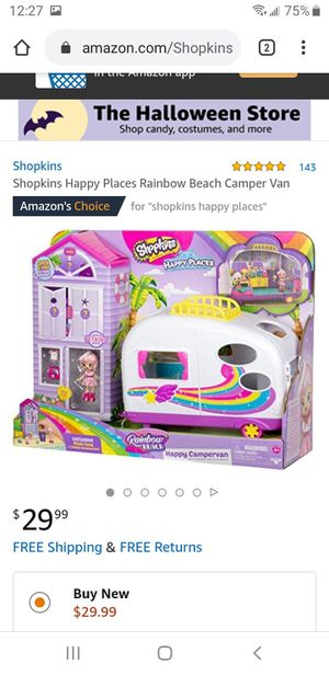 Brand nw in box shopkins happy camper van for Sale in Portland, OR