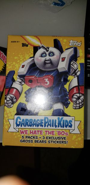 Garbage Pail Kids We Hate the 80s Transformers 5pk for Sale in Harwood Heights, IL