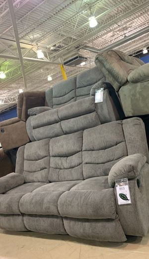 💲39 Down Payment 🍃 SPECIAL] Tulen Gray Reclining Living Room Set 242 for Sale in Jessup, MD