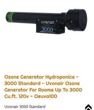 Uvonair 3000 ozone generator for Sale in Salt Lake City, UT