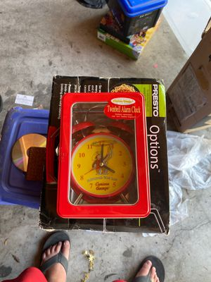Curious George alarm clock for Sale in Chino, CA
