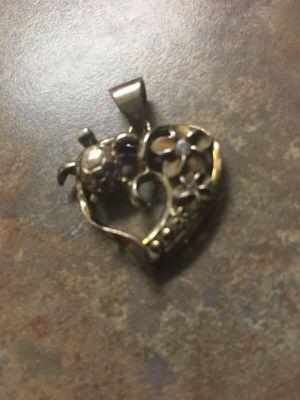 Plumeria turtle pendant. Chain not incl. for Sale in Wildomar, CA