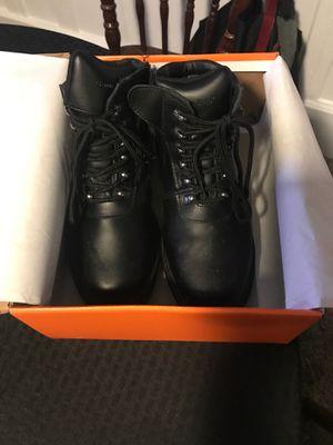Genuine grip slip resistant w/ comfort steel toe work boot 6 1/2 men's or 8 women's for Sale in Verona, PA