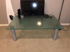 Glass coffee table for Sale in Montgomery Village, MD