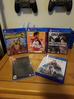 PS4 Games and Switch game for Sale in Hillsboro, OR