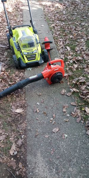 Ryobi Electric Lawn mower, Electric for Sale in Baltimore, MD