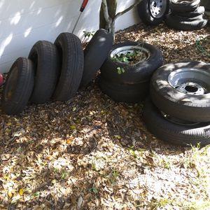 Free Trailer Tires for Sale in Orlando, FL