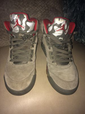 Jordan Retro 5 P51 Camo Size 8 for Sale in Tampa, FL