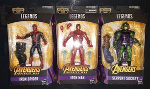 Marvel Legends Thanos (movie) BAF Wave for Sale in San Diego, CA