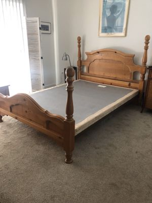 Box spring and bed frame for Sale in San Diego, CA