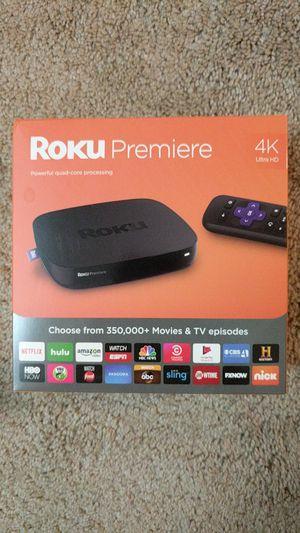 Roku premiere 4K ultra HD for Sale in Germantown, MD