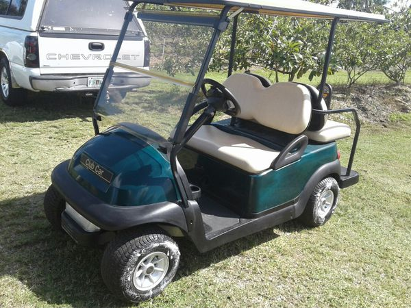 Club car precedent 2008 has one year old batteries lights charger included