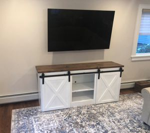 Farm house entertainment center or console table for Sale in Torrance, CA