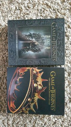 Complete seasons 1 and 2 of Game of Thrones for Sale in San Angelo,  TX