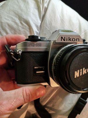 Nikon camera Nikkor lens flash and hard drive for Sale in Hudson, FL