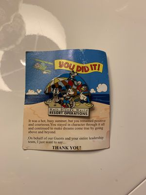 Walt Disney World Resort Pin for Sale in Miami Beach, FL