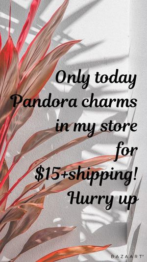 Pandora charms MAKE AN OFFER! for Sale in Brooklyn, NY