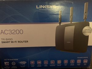 Linksys AC3200 Tri-Band Smart Wi-Fi Router for Sale in North Richland Hills, TX