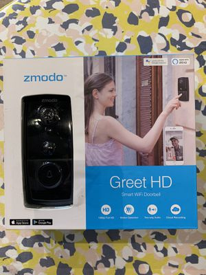 Zmodo Greet HD Smart Video Doorbell for Sale in Raleigh, NC