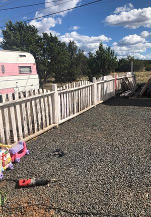 Picket fence good fencing with post approximately 100 feet for Sale in Show Low, AZ