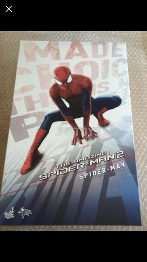 Hot toys Amazing spider-man 2 (spiderman) 1/6th scale figure for Sale in Daly City, CA