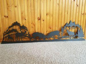 Elk fighting metal art for Sale in Rhinelander, WI