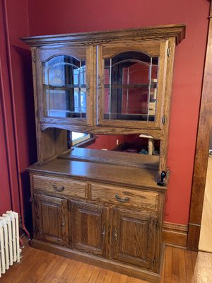 China Hutch - Lighted for Sale in Biscay, MN