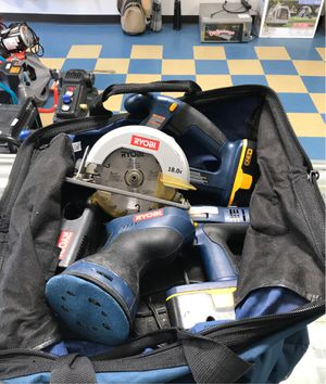 RYOBI 18v 3 piece tool set for Sale in Inkster, MI