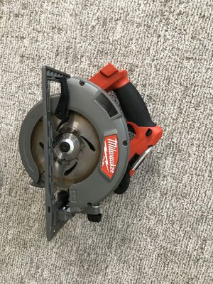 "Milwaukee 2731-20 M18 Fuel 7-1/4"" Circular Saw Bare -$150FIRM!!!!!! for Sale in Oakland, CA"