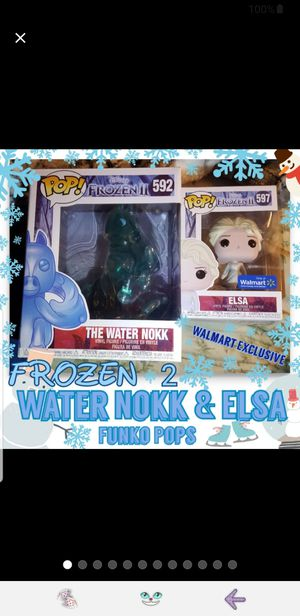 Water Nokk & Elsa Funko Pop Frozen 2 for Sale in Doubs, MD