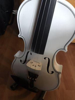 Violin White 4/4 new Case Bow Accessories Ocoee Fl pickerstv for Sale in Ocoee, FL