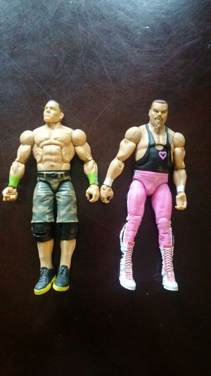 Wwe lot john cena action figures for Sale in Dallas, TX