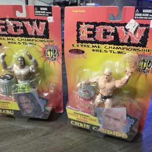 ECW WRESTLER'S BRAND NEW ASKING ONLY FOR $25.00 FOR BOTH !!! for Sale in Phoenix, AZ