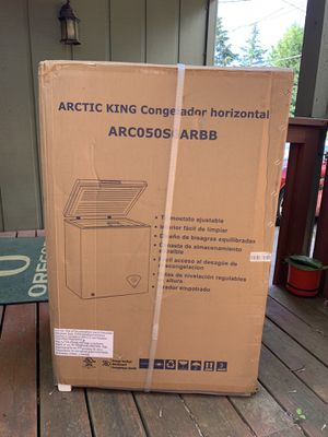 Arctic King 5 CU. FT. Chest Box Freezer BRAND NEW UNOPENED for Sale in Portland, OR