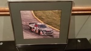 Nascar wall photo in frame for Sale in Bernville, PA