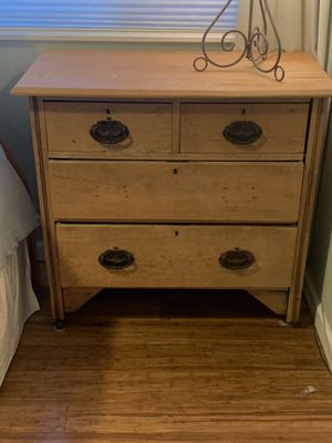 Antique 3 drawer dresser—FREE if you pick up for Sale in Seattle, WA