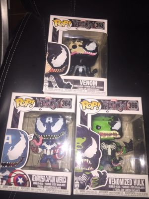 Venom Funko pops for Sale in Richardson, TX