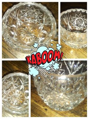 Don't pass on this Antique Extremely Heavy Crystal shot glasses ,vases ,ect Valuable stuff for Sale in Pinole, CA