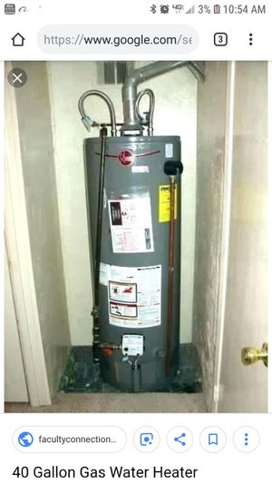 RHEEM AND RUUD WATER HEATERS, 40, 50 GALLONS for Sale in San Diego, CA
