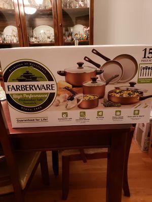 Faberware 15 Piece Pot Set for Sale in Millington, TN