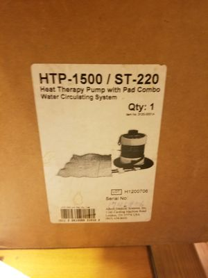 HOSPITAL GRADE HEAT THERAPY PUMP for Sale in Tupelo, MS