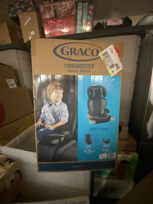 Graco Turbo-booster Car Seat for 4-10 yrs for Sale in Davie, FL