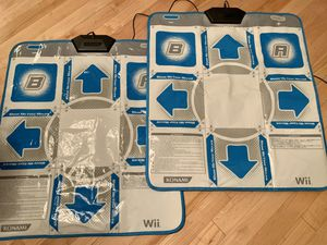 NWOT wii dance revolution set two pads for Sale in Naperville, IL